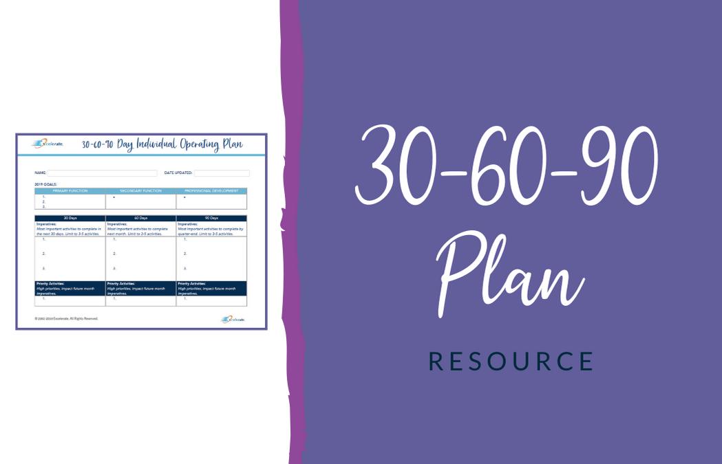 Revance – 30-60-90 Plan